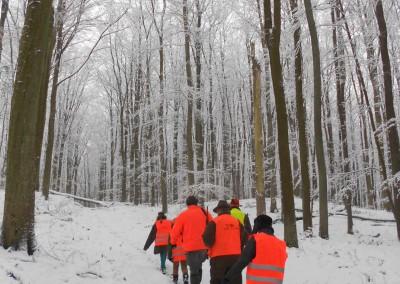 Jagd ADJ Winter Anstellen